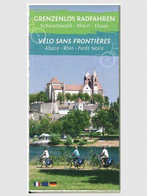 Radkarte Grenzenlos Radfahren | Schwarzwald -Rhein - Elsass