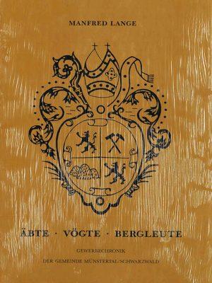 Buch Manfred Lange | Äbte - Vögte - Bergleute