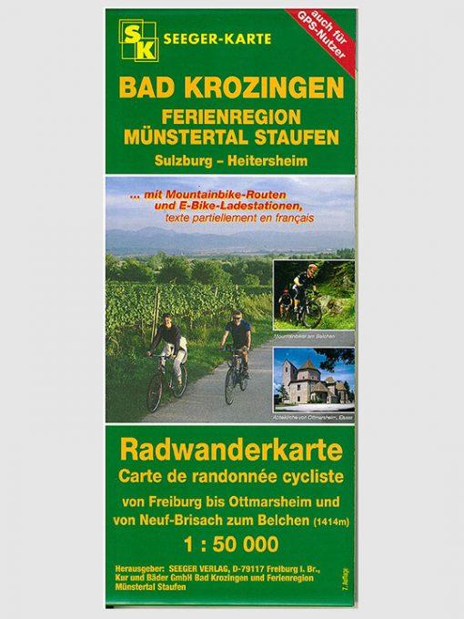 Radwanderkarte | Bad Krozingen - Ferienregion Münstertal Staufen - Sulzburg - Heitersheim