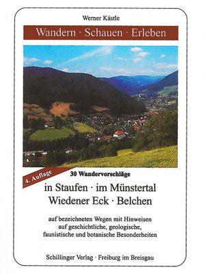 Buch Werner Kästle | Wandern - Schauen - Erleben