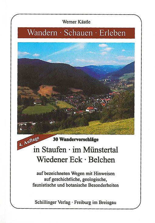 Buch Werner Kästle   Wandern - Schauen - Erleben